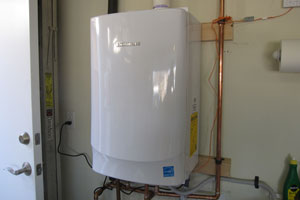 Tankless water heater installation by San jose plumber